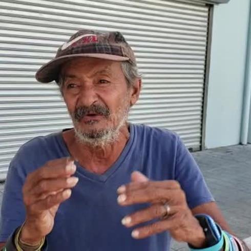 """Deambulante en Ponce: """"No he podido ni dormir"""""""