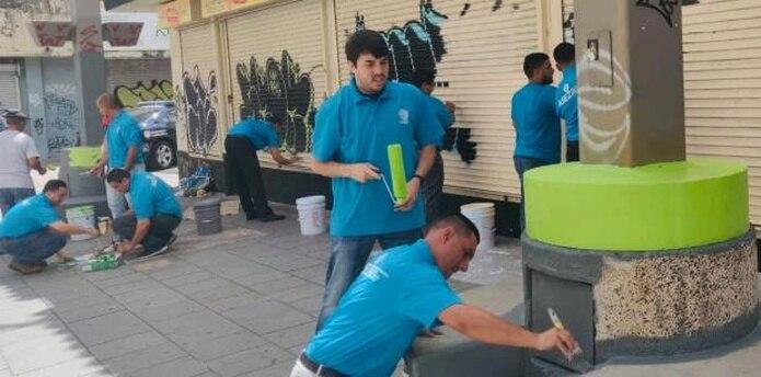 Se estima que cientos de voluntarios participaron de la iniciativa. (archivo)