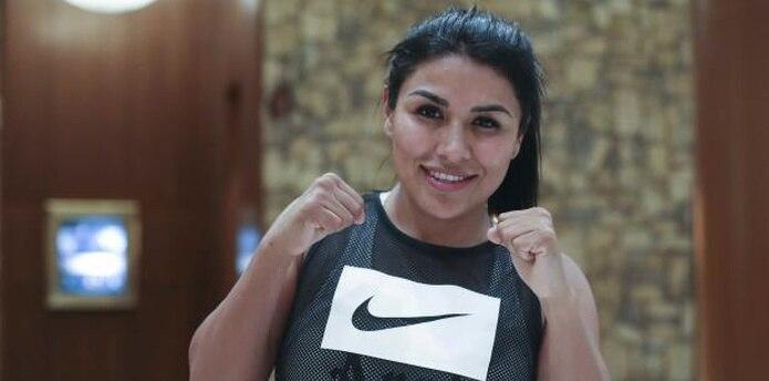 La boxeadora Arely Muciño es la novia del boxeador Tito Acosta. (Vanessa Serra Díaz vanessa.serra@gfrmedia.com)