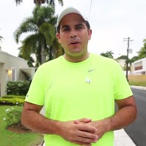 ¿Cómo encuentra energía Ricardo Rosselló para mantenerse en carrera?