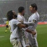 Real Madrid vence 2-1 en Alavés y asume el liderato de la liga española