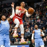Russell Westbrook masacra a los Timberwolves