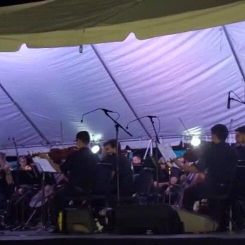 Euforia con la presentación de la Orquesta Sinfónica en Toa Baja