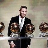 Messi gana el Balón de Oro por solo siete puntos sobre Van Dijk