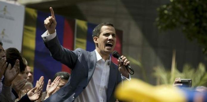 Juan Guaidó es el presidente de la Asamblea Nacional de Venezuela. (AP / Fernando Llano)