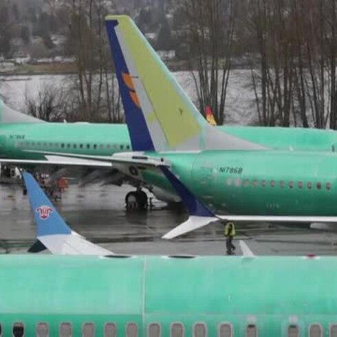 Inmovilizados unos 50 aviones Boeing por fisuras estructurales